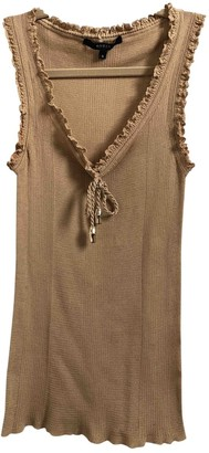 Gucci Beige Cotton Top for Women