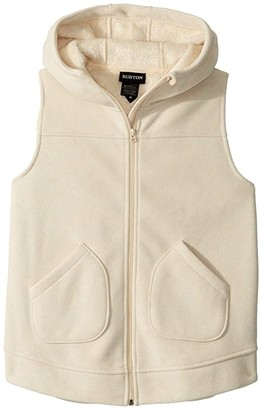 Burton Minxy Vest (Little Kids/Big Kids) (Creme Brulee Heather) Girl's Clothing