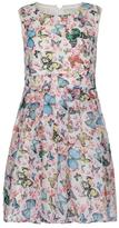 Yumi Butterfly Print Day Dress Cream