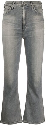 Citizens of Humanity Mid Rise Cropped Jeans