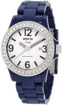 Invicta Women's 1634 Angel Collection Crystal-Accented Navy Blue Watch