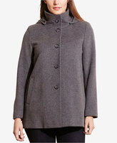 Lauren Ralph Lauren Plus Size Single-Breasted Pea Coat, Only at Macy's