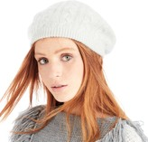 Sole Society Cable Knit Wool Beanie