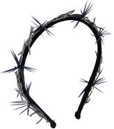 Gigi Burris Barbed Wire Velvet Headband