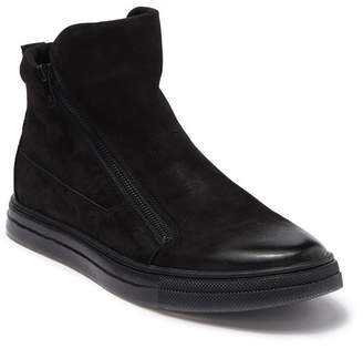Kenneth Cole New York Side Zip Suede Sneaker