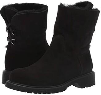 La Canadienne Heidi (Black Suede/Shearling) Women's Boots