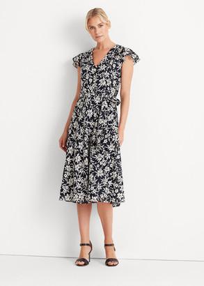 Ralph Lauren Floral Cotton Midi Dress