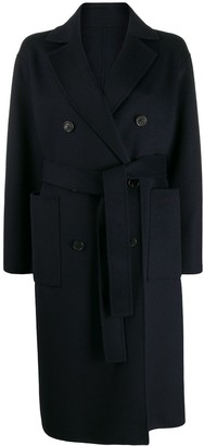 MACKINTOSH double breasted belted coat