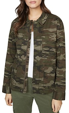 Sanctuary Flap-Pocket Camo Jacket
