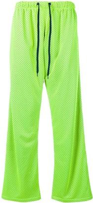 Duo black and citron jogging pants