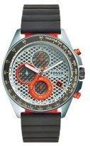 Fossil Men's CH3025 Sport 54 Chronograph Gunmetal Silicone Watch
