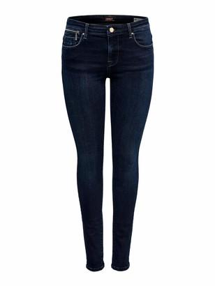 Only Women's Onlisa Reg Sk Zip Jeans Bb Rea10098 Noos Skinny