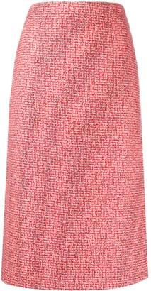 goodboy Tweed Midi Skirt