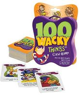 Patch 100 Wacky Things Card Game by Patch