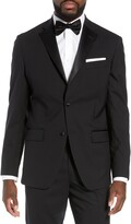 Thumbnail for your product : Nordstrom Men's Shop Trim Fit Stretch Wool Tuxedo Jacket