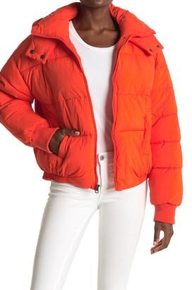 Lucky Brand Missy Short Puffer Jacket