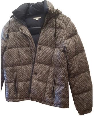 Piombo Blue Wool Jacket for Women