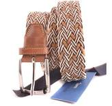 Harmont & Blaine Men's Multicolor Leather Belt.