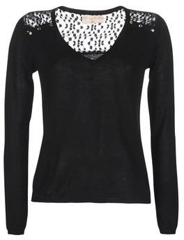 Moony Mood LOVEA women's Sweater in Black