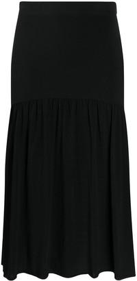 Totême A-line midi skirt