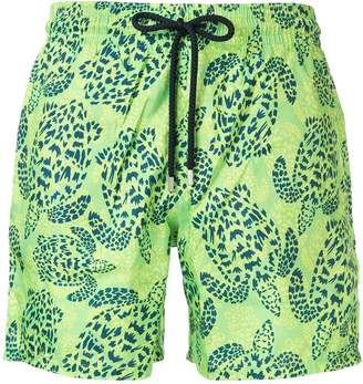 Vilebrequin Mahina Jungle-print swim shorts