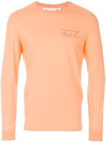 Martine Rose longsleeved logo print T-shirt