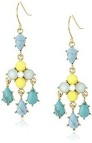 Carolee The Blue Line Chandelier Earrings
