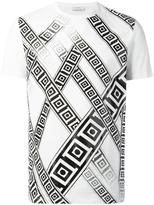 Versace frame print T-Shirt - men - Cotton - M