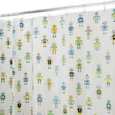 InterDesign PEVA Robotz Shower Curtain