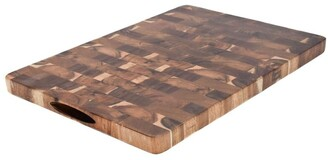 The Cooks Collective Acacia End Grain Cutting Board