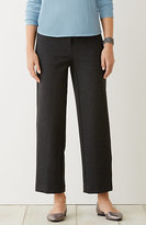 J. Jill Ponte Knit Ankle-Length Trousers