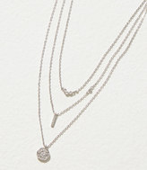 LOFT Delicate Pave Layered Necklace