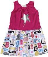Lucky Jade Mod Tank Dress (Toddler/Kid) - Popsicle Pink-2