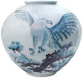 One Kings Lane Vintage Enormous Japanese Eagle Floor Vase