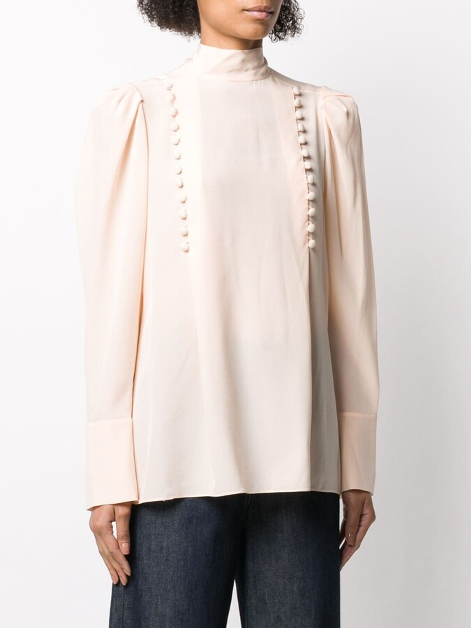 Thumbnail for your product : Givenchy Decorative Buttoned Blouse