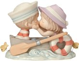 """Precious Moments 162002 Valentine's Day Gifts, """"You're The Only Fish In My Sea"""", Bisque Porcelain Figurine"""