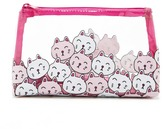 Forever 21 FOREVER 21+ Clear Cat Print Makeup Bag