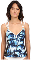 Nautica Palm to Perfection Removable Soft Cup Tankini NA33146