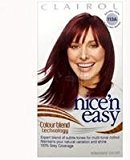 Clairol Nice N' Easy Haircolor #113A Nat Dark Burgundy Brown w/ Colorblend Technology by
