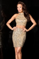 Scala 25400 Dress In Gold