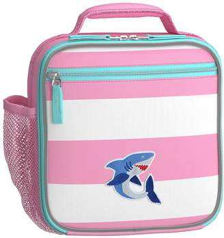 Pottery Barn Kids Fairfax Backpack Pink/White Aqua Trim