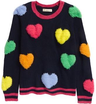 Tucker + Tate Kids' Hearts Pop Sweater