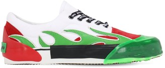 Palm Angels Low Top Leather Sneakers