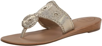 Jack Rogers Women's Capri Etched Demi-Wedge Sandal