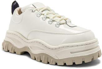 Eytys Angel Patent Sneaker in White | FWRD