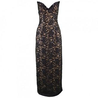 Bob Mackie \N Black Lace Dress for Women Vintage