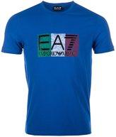 Emporio Armani Men's Emporio Ea7 Train Graphic Italy T-Shirt