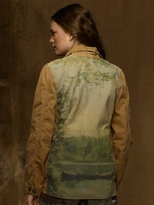 Denim & Supply Ralph Lauren Printed-Back Barn Jacket
