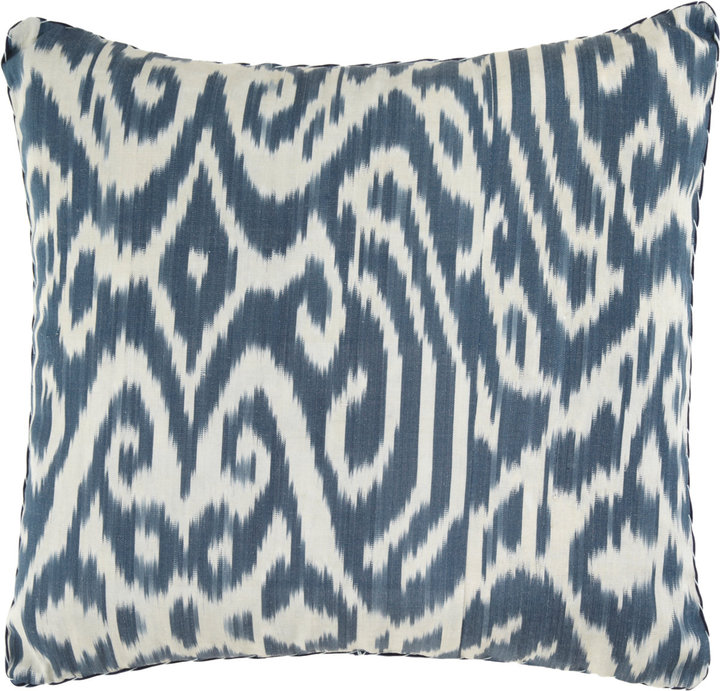 Madeline Weinrib Ikat Print Pillow