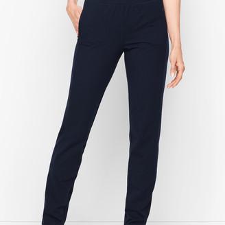 Talbots Everyday Straight Leg Yoga Pants - Long